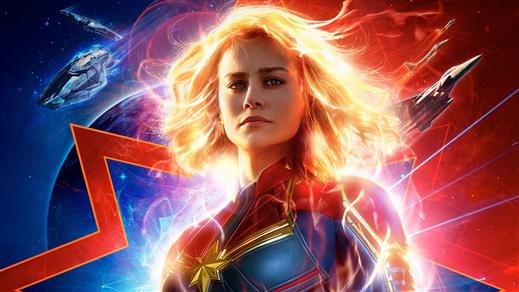 Bild för Captain Marvel, 2019-03-06, Emmaboda Folkets Hus