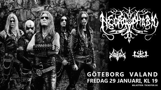 Bild för Necrophobic / Avslut / Trident - Valand, GBG, 2021-01-29, Valand