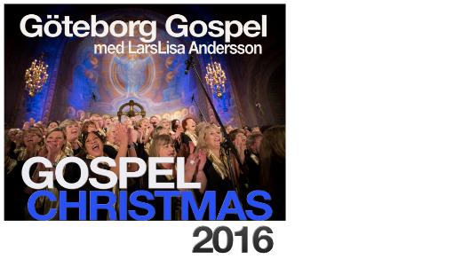 Bild för Gospel Christmas 2016 Göteborg Gospel 19:30, 2016-11-25, Vasakyrkan Göteborg