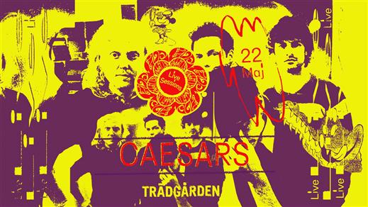 Bild för Live Sessions: Caesars, 2019-05-22, Trädgården