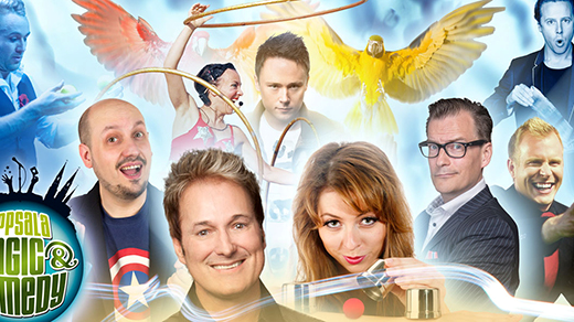 Bild för Uppsala Magic & Comedy: Galashow, 2018-04-28, UKK - Stora salen