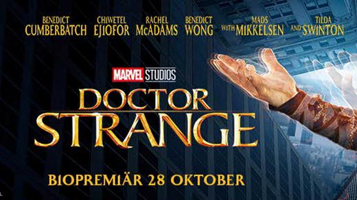 Bild för Doctor Strange (11 år 2h), 2016-11-01, Metropolbiografen