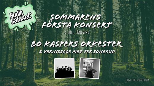 Bild för Sommarens Första Konsert - Bo Kaspers Orkester, 2020-07-05, Långvinds Bruk