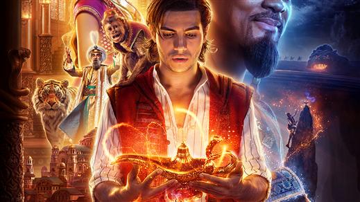 Bild för Aladdin (live action) 2D dubb (Sv. tal) 15:00, 2019-06-27, Estrad