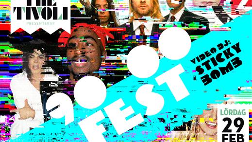 Bild för 90/00-FEST, 2020-02-29, The Tivoli
