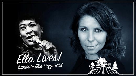 Bild för Ella Lives! - A tribute to Ella Fitzgerald, 2018-08-05, Parksnäckan, Stadsträdgården