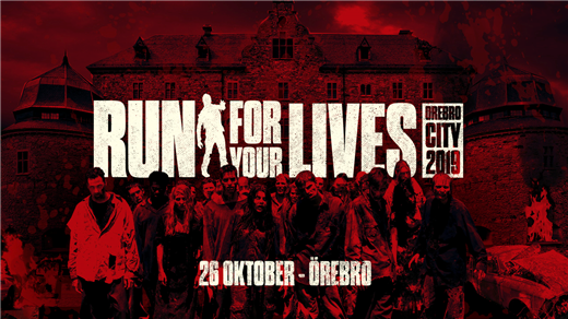 Bild för Run For Your Lives Örebro 26 oktober 2019, 2019-10-26, Örebro City