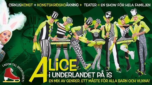 Bild för ALICE i underlandet på is, 2018-02-15, Jönköpings Konserthus Elmia #2