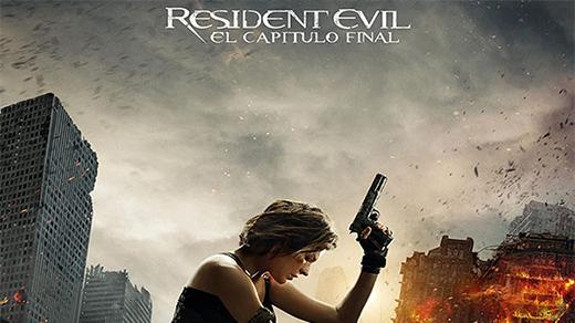 Bild för Resident Evil: The Final Capter 3D  (15 år), 2017-02-08, Biosalongen Folkets Hus