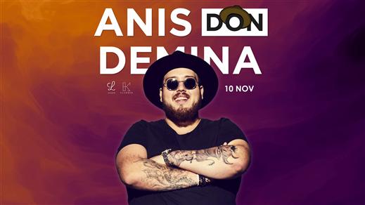 Bild för Anis Don Demina på Liljan, 2018-11-10, Liljan