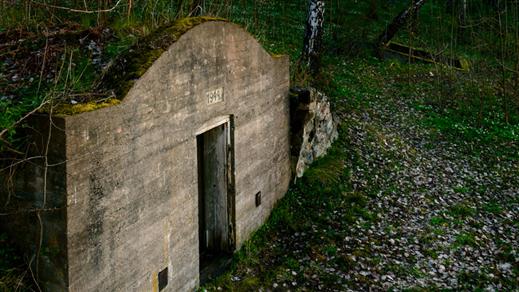 Bild för Guidning: Den glömda barackstaden vid Doverstorp, 2018-07-22, Finspång
