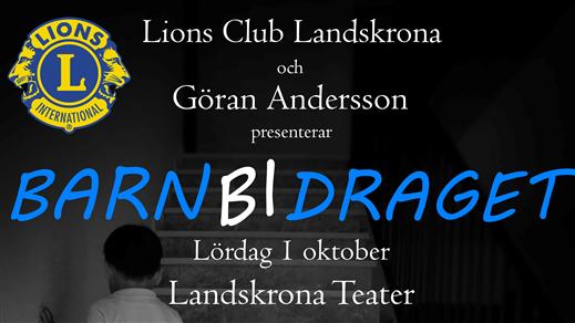 Bild för Barnbidraget konsert 1, 2016-10-01, Landskrona Teater