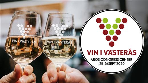 Bild för Vin i Västerås 2020 LÖRDAG, 2020-09-26, Aros Congress Center