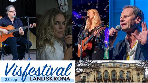 Bild för Visfestival Landskrona, 2019-09-28, Landskrona Teater