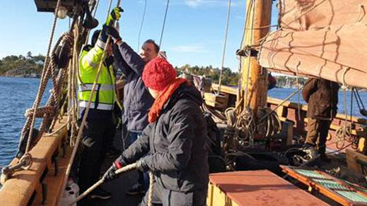 Bild för Prova på segling Pass2 - SLUTSÅLT, 2021-06-12, Ångbåtsbryggan på Skarholmen