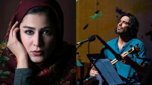 Bild för Ali Ghamsari & Haleh Sayfizadeh, 2017-11-26, Kryptan i Kista Kyrka & Kista Träff