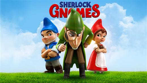 Bild för Mästerdetektiven Sherlock Gnomes, 2018-04-22, Kulturhuset i Svalöv