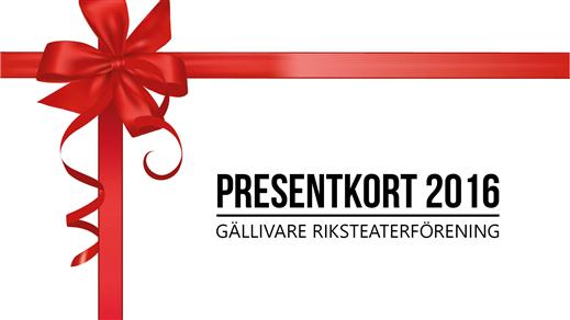 Bild för Presentkort valfri föreställning 2016, 2016-12-31, Folkets Hus, Blå Forell