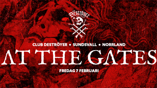 Bild för At The Gates + Support, 2020-02-07, Club Deströyer