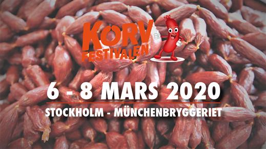 Bild för Korvfestivalen Stockholm 2020, 2020-03-06, Münchenbryggeriet