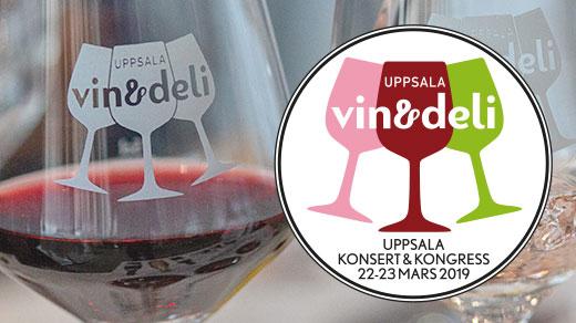 Bild för Uppsala Vin & Deli 2019 Fredag, 2019-03-22, Uppsala Konsert & Kongress - hela huset