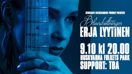 Bild för BLUES I PARKEN - Erja Lyytinen, 2020-10-09, Huskvarna Folkets Park