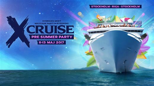 Bild för X-Cruise - PRE SUMMER PARTY - 11-13 Maj 2017, 2017-05-11, Värtahamnen