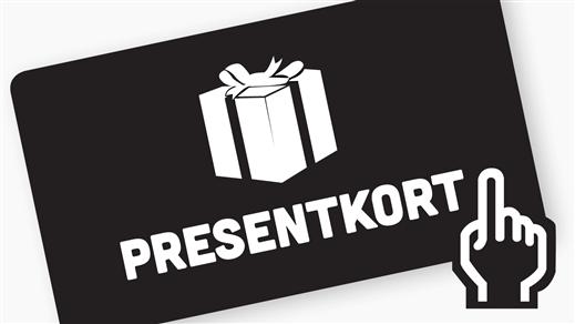 Bild för Presentkort, 2017-12-04, Halmstad Live