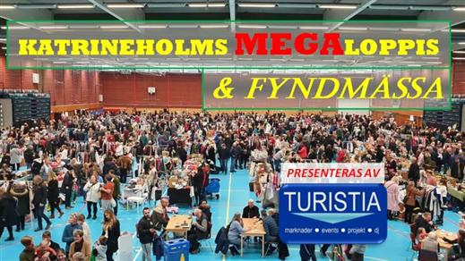 Bild för Katrineholms Megaloppis & Fyndmässa, 2021-11-13, Duveholmshallen