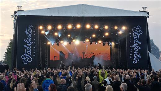 Bild för Stadsfesten Skellefteå 2017, 2017-06-29, Stadsfesten Skellefteå