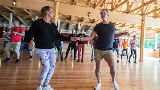 Bild för Dansskola på Dansbandsveckan, 2019-07-15, Folkets Park Orrskogen