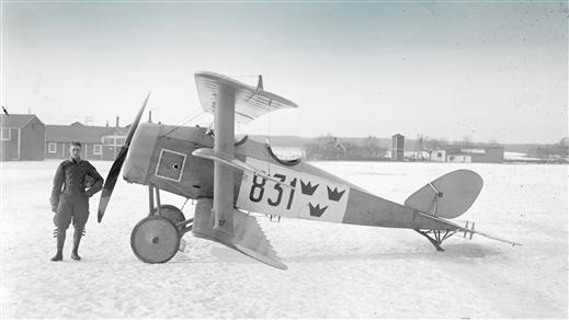 Bild för Nils Fredrik Rodéhn - ett flygarliv, 2020-02-06, Flygvapenmuseum