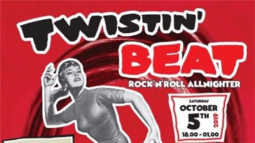 Bild för TWISTIN' BEAT! Rock'n'roll allnighter!, 2019-10-05, Biografbaren
