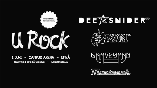 Bild för U Rock 2017, 2017-06-01, Campus