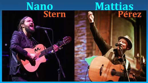 Bild för 201007 Nano Stern & Mattias Pérez, 2020-10-07, Stallet - Världens Musik