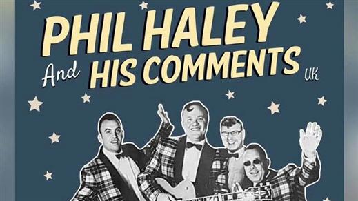 Bild för Phil Haley & His Comments, 2019-03-17, Café Gula Huset