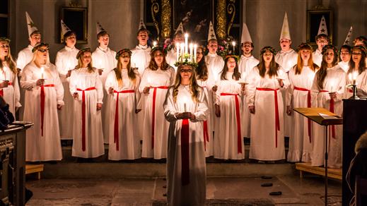 Bild för Lucia - och Julkonsert TyresöVokalensemble 18.30, 2019-12-18, Tyresö Kyrka