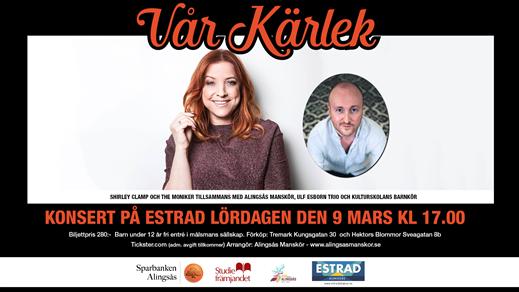 Bild för Alingsås Manskör - Vår Kärlek, 2019-03-09, Estrad i Alingsås