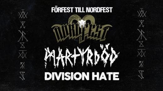 Bild för Martyrdöd + Division Hate, 2018-09-29, Club Deströyer