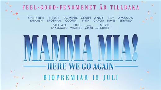 Bild för Mamma Mia! Here We Go Again, 2018-07-22, Kulturhuset Finspång, Stora Salongen