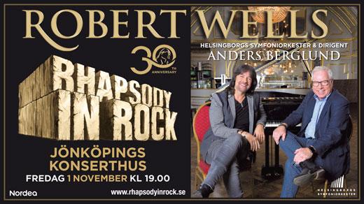 Bild för RHAPSODY IN ROCK - 30ÅR, 2019-11-01, Jönköpings Konserthus Elmia #2