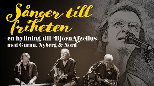 Bild för Guran, Nyberg & Nord– En hyllning till Afzelius, 2021-10-01, Östrabo teater