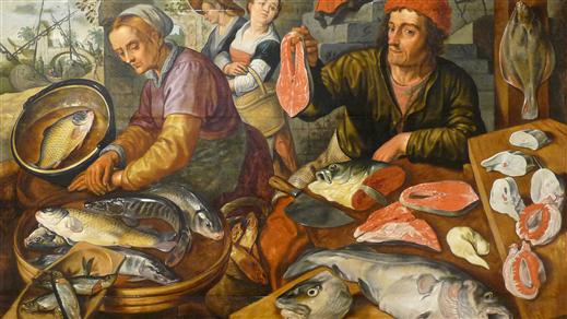 Bild för Vad åt stadsborna under 1500-talet?, 2020-11-20, Historiska museet