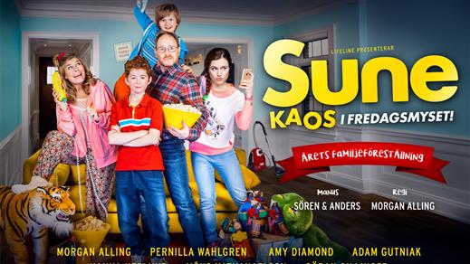 Bild för SUNE – KAOS I FREDAGSMYSET, 2016-11-12, Konserthuset
