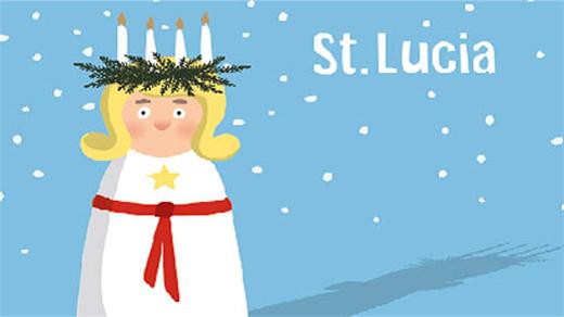 Bild för Luciahögtid i Hässleholms kyrka, 2018-12-09, Hässleholms kyrka