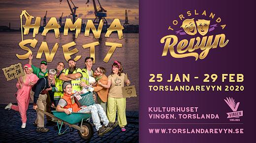 Bild för Hamna Snett - Lördag 15 feb 2020 - 18:00, 2020-02-15, Kulturhuset Vingen
