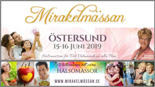 Bild för Mirakelmässan Östersund 15-16 Juni kl. 10-16, 2019-06-15, Jamtli Exercishall