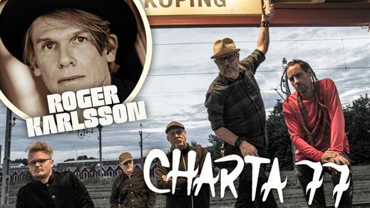 Bild för Charta 77 och Roger Karlsson på Ölkultur, 2017-11-10, Eskilstuna Ölkultur
