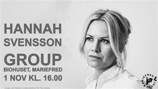 Bild för Hannah Svensson Group, 2020-11-01, Biohuset, Mariefred