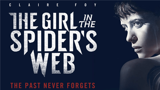 Bild för Girl in the Spider´s Web, 2018-10-28, Kulturhuset i Svalöv